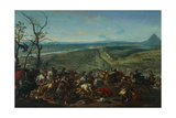 The Conquest of Belgrade in 1717, Led by Prince Eugene of Savoy, 1717-20 Giclée-Druck von Jan van Huchtenburgh