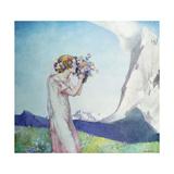 Flora Alpina Giclee Print by Edward Reginald Frampton