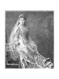 Madame Albani, 1893 Giclee Print by Napoleon Sarony