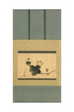Pumpkin and Vine and Horse Fly, Edo Period, C.1825 Giclée-Druck von Katsushika Hokusai