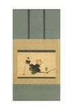 Pumpkin and Vine and Horse Fly, Edo Period, C.1825 Giclee Print by Katsushika Hokusai