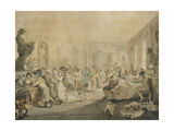 Very's Restaurant in the Palais Royal, Paris, 1803 Giclee Print by John Henry Nixon