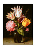 Still Life of Flowers, C.1609 Giclee Print by Ambrosius The Elder Bosschaert