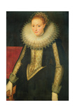 Portrait of a Lady of the Court of Queen Elizabeth I Giclee Print by Marcus Gheeraerts
