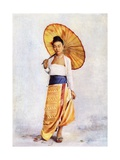 A Burmese Lady, C.1900 Giclee Print by Philip Adolphe Klier