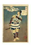 Goro Tokimune, One of the Soga Brothers, 1885 Giclee Print by Tsukioka Yoshitoshi