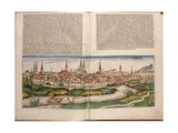 View of the City of Luebeck, Page from Schedelsche Weltchronik by Hartmann Schedel, Published by… Giclee Print by Michael Wolgemut Or Wolgemuth