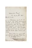 Letter to Sir Martin Archer Shee, London, 9 June 1841 Giclee Print by Charles John Huffam Dickens
