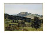 Landscape - Hill and Dale Giclee Print by Albert Bierstadt