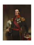 Portrait of Sir John Conroy Giclee Print by Henry William Pickersgill