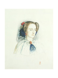 Portrait of Effie Ruskin, Later Lady Millais (Nee Euphemia Chalmers Gray), 1853 Giclee Print by Sir John Everett Millais