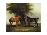Hunters at Grass, 1801 Giclee Print by Benjamin Marshall