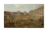 A View of Covent Garden, from the Artist's Studio, Late 1750s Giclee Print by Samuel Scott