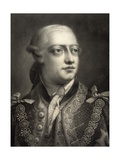 George III, after a Mezzotint by Thomas Frye Giclee Print by William Pether