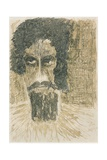 A Head Giclee Print by Rabindranath Tagore