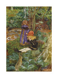 They Sat Down and Cried Giclee Print by John Byam Liston Shaw