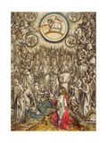 The Lamb of God Appears on Mount Sion, 1498 Giclee Print by Albrecht Dürer or Duerer