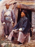 The Taotai of Kashgar, C.1910 Photographic Print by Prince Alexandre Gagarine