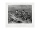 Stealing a March, Engraved by Edward Burton, 1824 Giclee Print by Charles Landseer