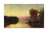 Greenwood Lake at Twilight, 1873 Giclee Print by Jasper Francis Cropsey