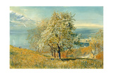 The Lake of Geneva, C.1880-1882 Giclee Print by John William Inchbold