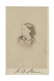 Harriet Beecher Stowe Photographic Print by R. S. DeLamater
