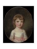 Portrait of a Young Girl Giclee Print by Thomas Hickey