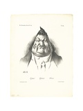 Past, Present, Future, 1834 Giclee Print by Honore Daumier