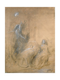 Queen Mab Giclee Print by Gustave Dore