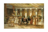 The Procession of the Sacred Bull, Apis, C.1879 Giclee Print by Frederick Arthur Bridgman