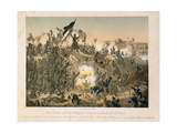 The Battle of Dybboel in the Second Schleswig War, on 18 April 1864, Published by Verlag A.… Giclee Print by German School