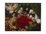 The Birth of the Virgin, 1513 Giclee Print by Wolf Traut
