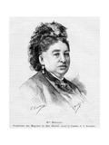 Marguerite Boucicaut, 1887 Giclee Print by Gaston Vuillier