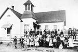 Florissant School, 1894 Photographic Print