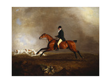Thomas Mellish on His Hunter 'saucebox' Giclee Print by Benjamin Marshall