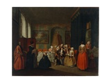 After the Birth, 1734 Giclee Print by Peter Jacob Horemans