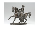 Equestrian Statue of Queen Victoria, 1853 Giclee Print by Thomas Thornycroft
