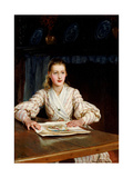 The Young Collector, 1889 Giclee Print by Frank Topham