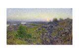 Evening at Tantobergen, 1893 Giclee Print by Eugene Jansson