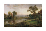 Riverscape - Early Autumn, 1888 Giclee Print by Jasper Francis Cropsey
