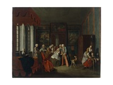 Before the Birth, 1734 Giclee Print by Peter Jacob Horemans