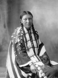 Alice Lone Bear, Sioux, 1898 Photographic Print by Frank A. Rinehart