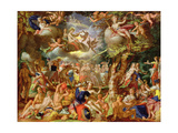 The Wedding of Cupid and Psyche Giclee Print by Joachim Wtewael Or Utewael