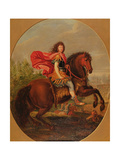 Equestrian Portrait of Louis Xiv Giclee Print by Jean-Baptiste Martin