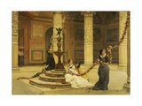 The Morning of the Festival - Central Italy, 1876 Giclee Print by Frank Topham