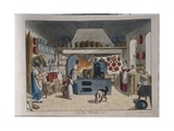 The Kitchen - from 'Children's Pictures for Entertainment and Instruction' (1st Vol. for Girls),… Giclee Print by Johann Michael Voltz