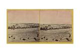 Jerusalem from Olivet, 1850s Giclee Print by Mendel John Diness