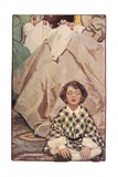 A Child Seated with Women Sewing, from 'A Child's Garden of Verses' by Robert Louis Stevenson,… Giclee Print by Jessie Willcox-Smith