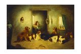 Waiting for Master, 1870 Giclee Print by George Armfield