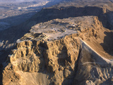 Aerial View of the Masada Plateau Photographic Print